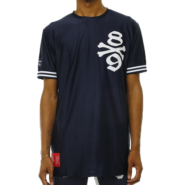 Own The Team Double Mesh Jersey Navy