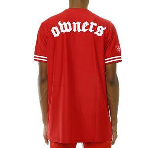 Own The Team Double Mesh Jersey Red