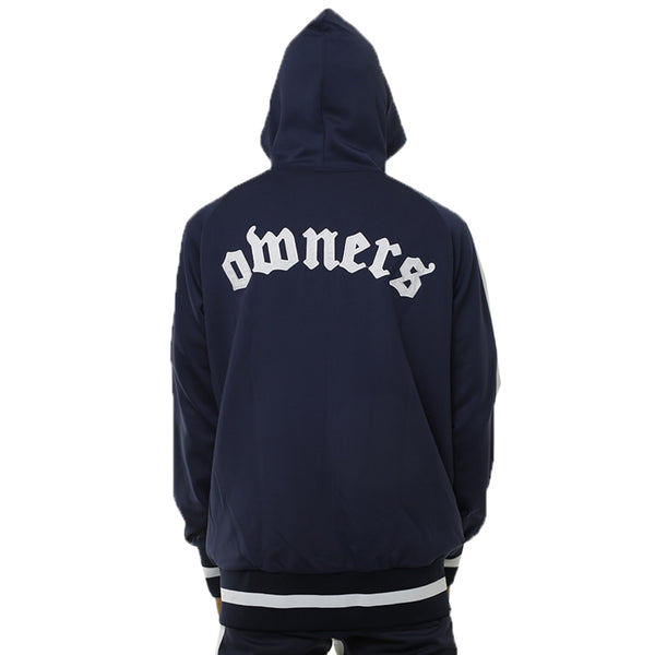 Own The Team Double Stripe Jacket Navy