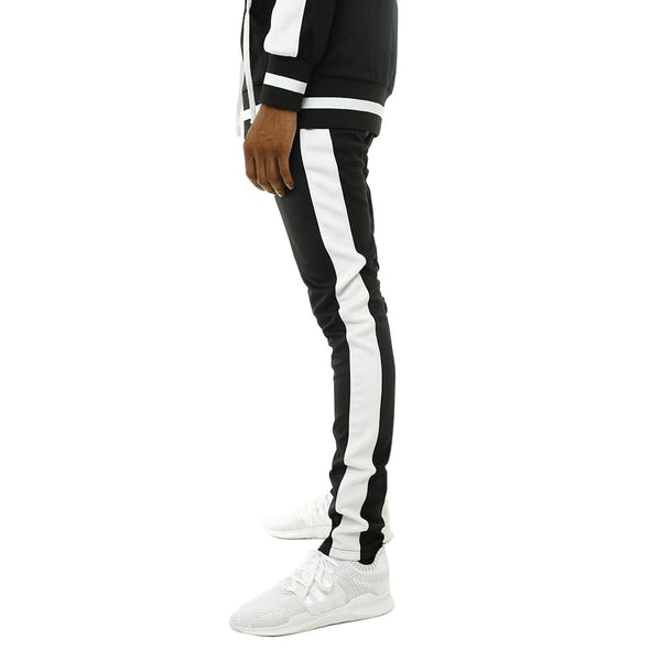 Own The Team Double Stripe Track Pant Black