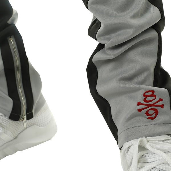 Own The Team Double Stripe Track Pant Grey