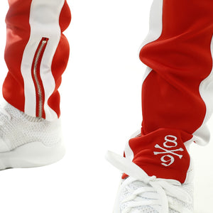 Own The Team Double Stripe Track Pant Red