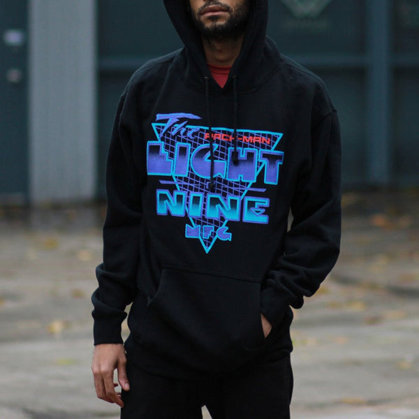 Pack man aqua 8 hooded sweatshirt (1)