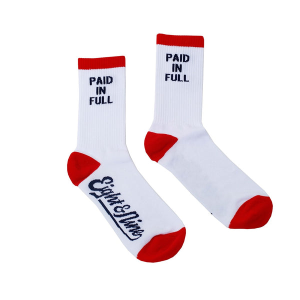 PIF Socks White