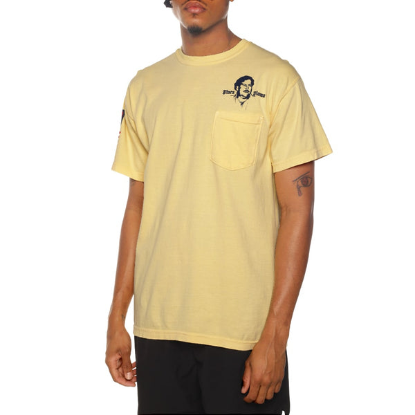Patron Beach Garment Dye T Shirt Butter