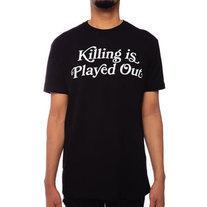 Played Out T Shirt Black