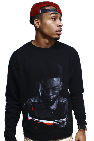 Pookie New Jack City Bred 11 Crewneck Sweatshirt - 1