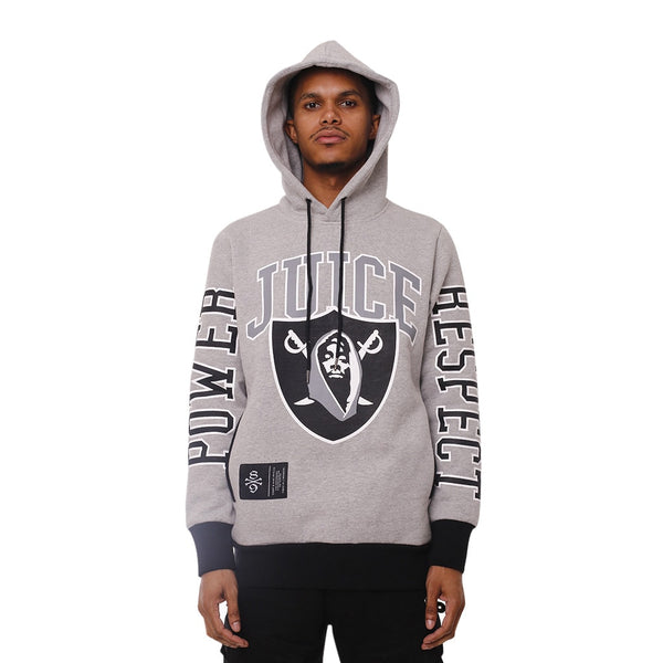 Power And Respect Hooded Sweatshirt Heather