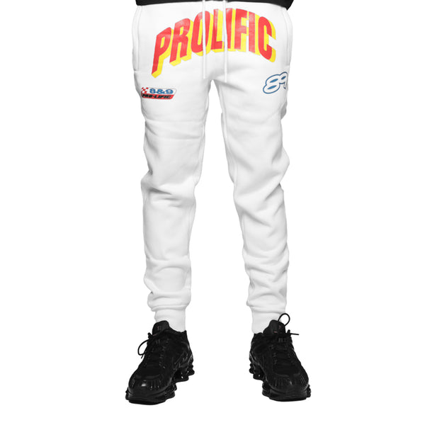 Prolific Mens Sweatpants White
