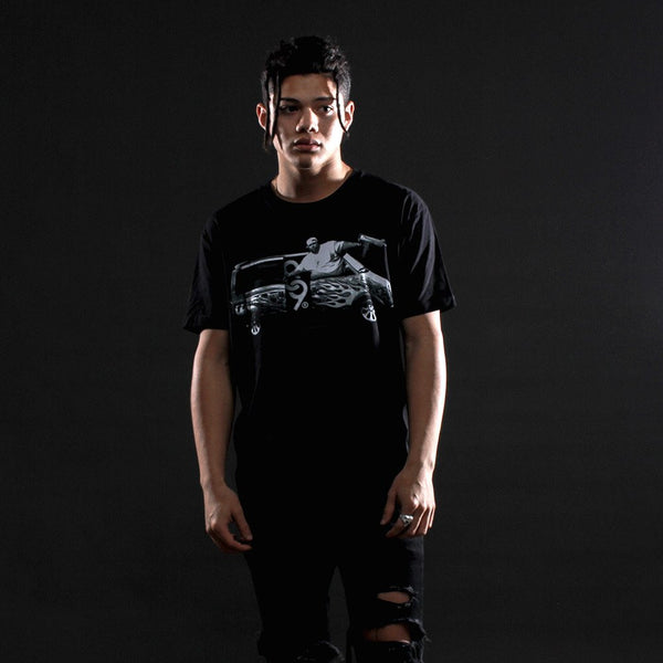 Punisher tour t shirt black (1)