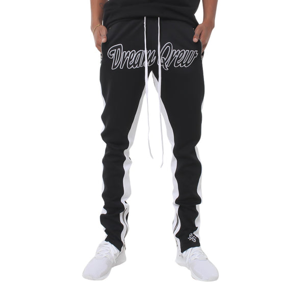 Qias Omar Dream Qrew Double Stripe Track Pants