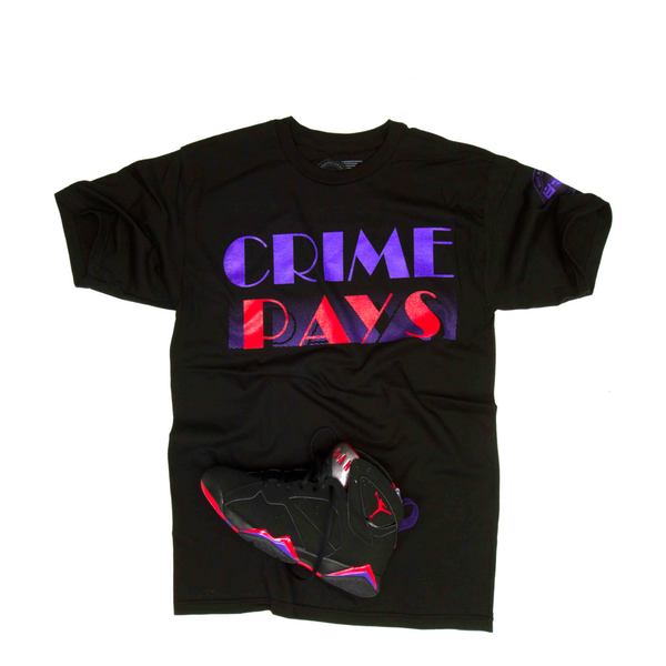 Crime Pays Raptors T Shirt - 3