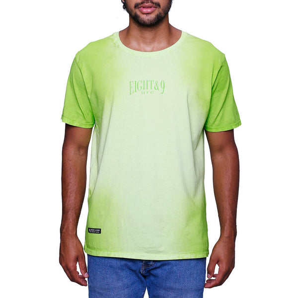 Radio Active Washed T Shirt Indiglo