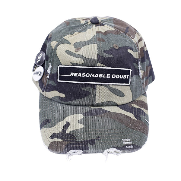 Reasonable Doubt Vintage Hip Hop Hat Camo