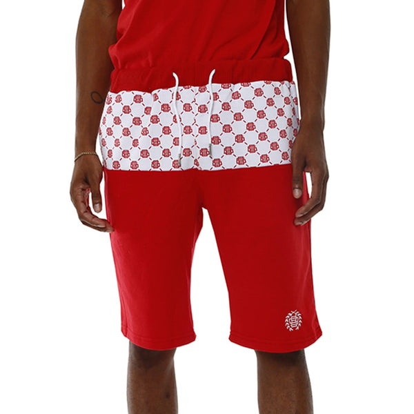 Rico Jogger Shorts Red Paid In Full Capsule