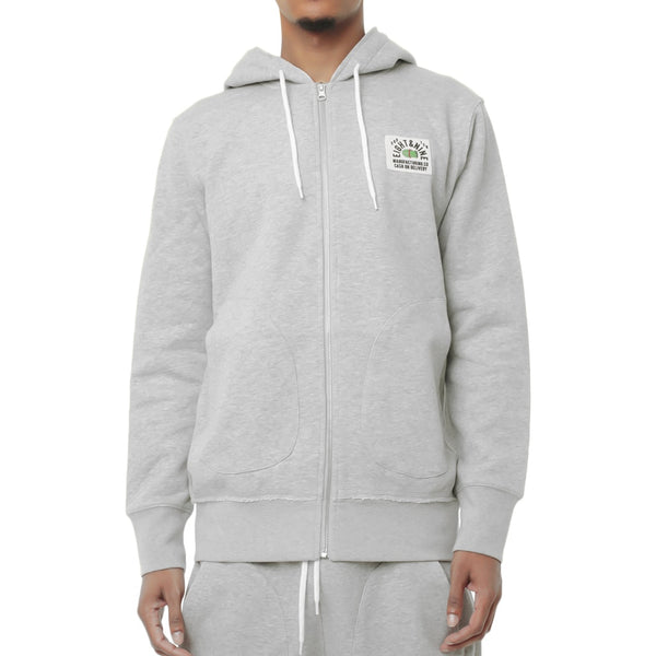 Rocky Flight Zip Up Hooded Sweatshirt