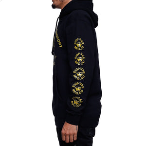 Royalty Jordan 4 GS Hooded Sweatshirt left side