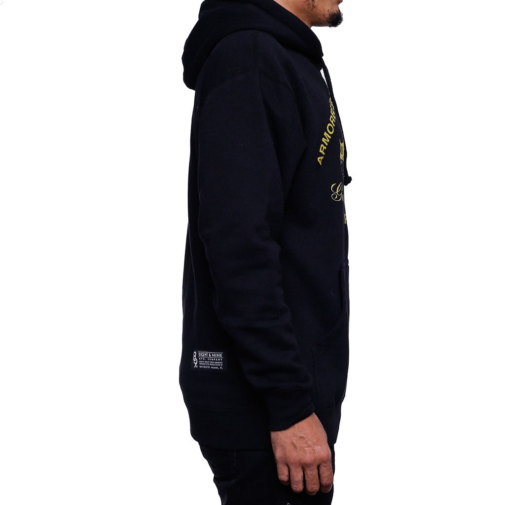 Royalty Jordan 4 GS Hooded Sweatshirt right side