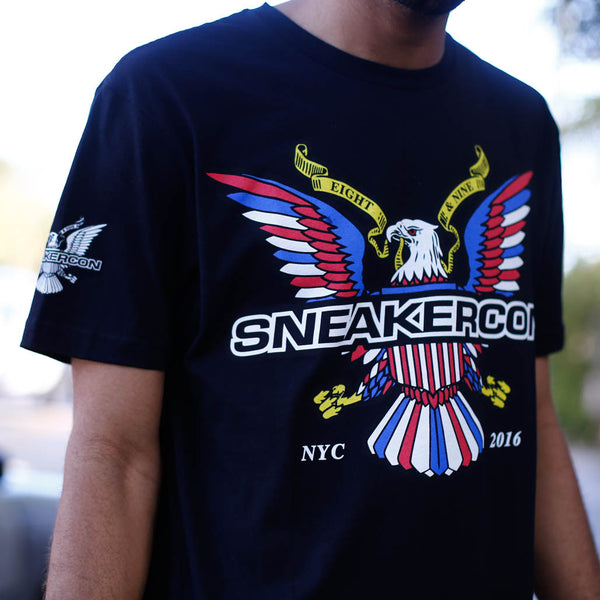 SNEAKER CON T SHIRT OFFICIAL NYC 2016 WINTER RELEASE (1)