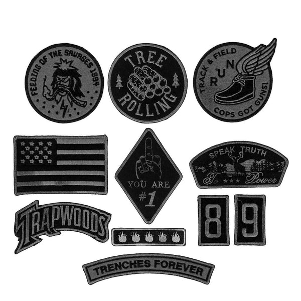 Savages Grey Patch Pack