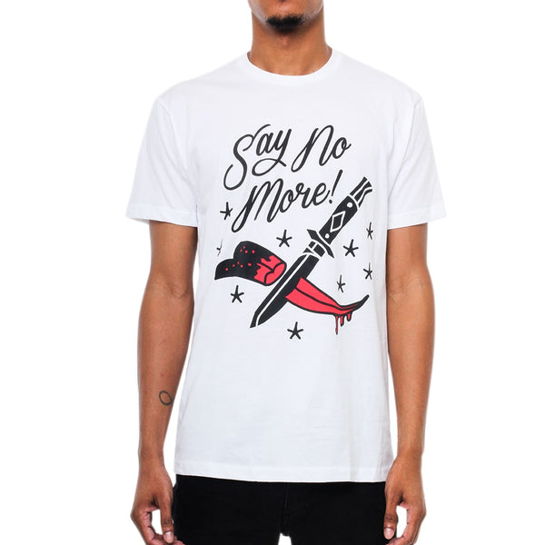 Say No More T Shirt White