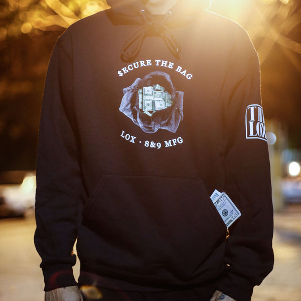 The Lox Secure The Bag Hooded Sweatshirt