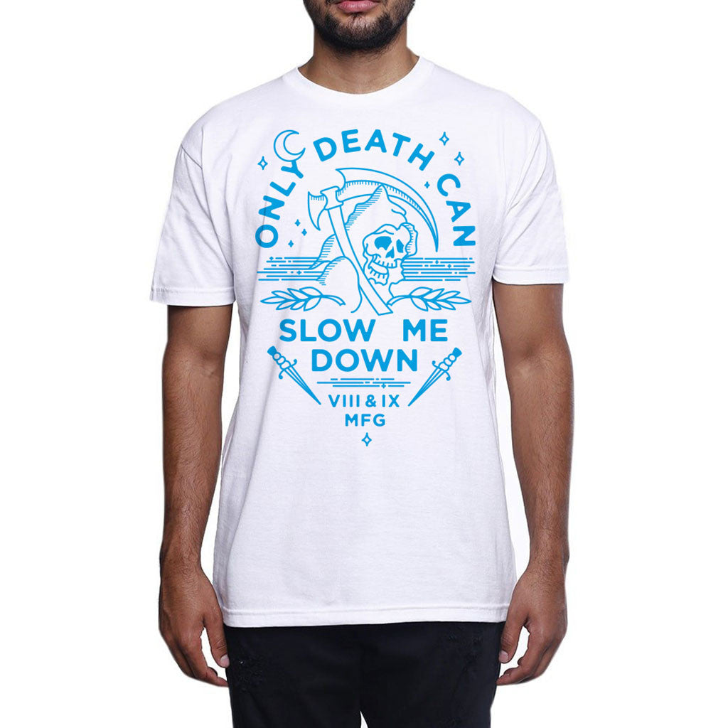 Slow Down Carolina Blue T Shirt