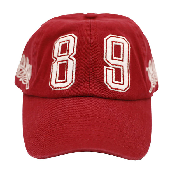 Spirit Embroidered Polo Hat Maroon