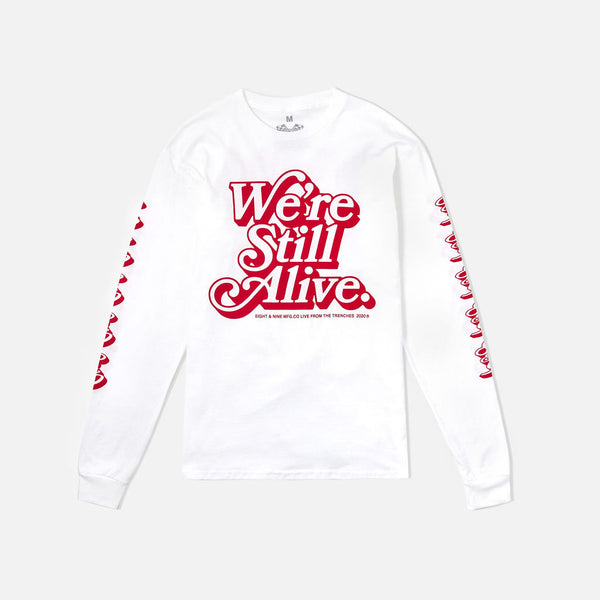 Still At It Long Sleeve Tee Fire Red