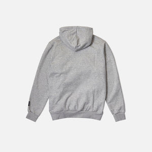 Strapped Up Slim Fleece Hoodie Grey
