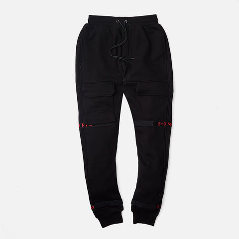 Strapped Up Fleece Sweatpants Bred