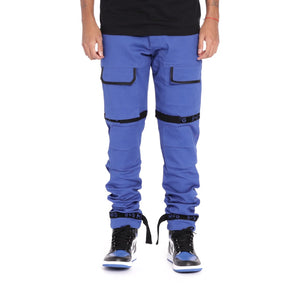 Strapped Up Slim Utility Pant Royal