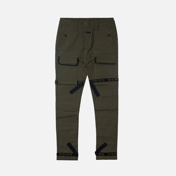 Strapped Up Utility Pant Olive