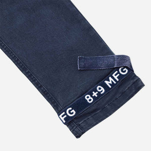 Strapped Up Vintage Washed Utility Pants Navy