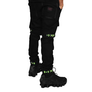Strapped Up Slim Utility Pant Volt