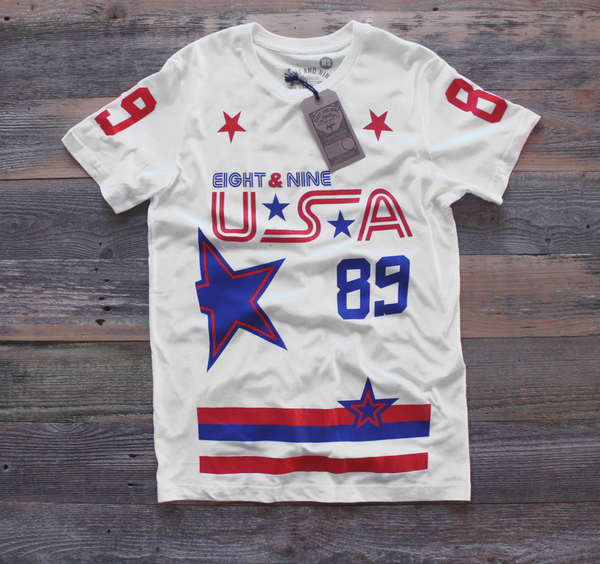 Stoner Hockey Jersey Tee White - 1