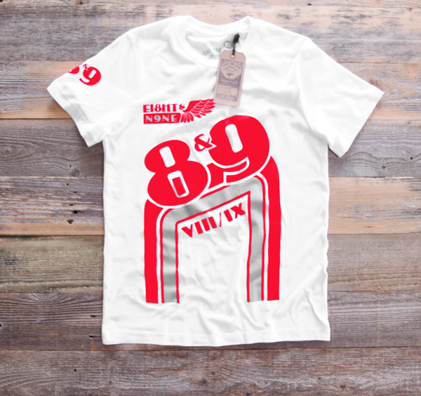 BMX Shirt White Cement - 1