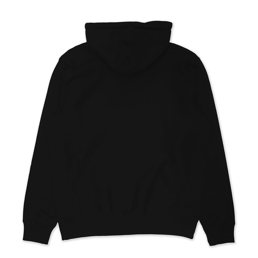 Super Heavy Premium Embroidered Hoodie Black
