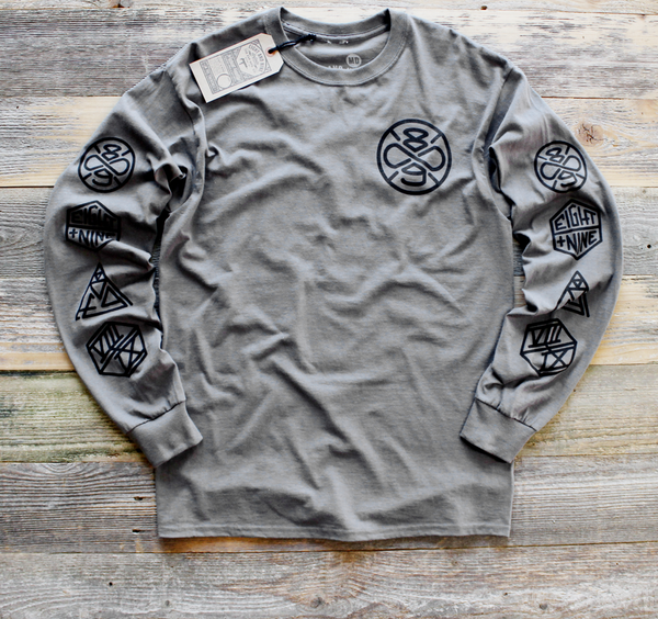 Charcoal Infinicon L/S Tee - 1