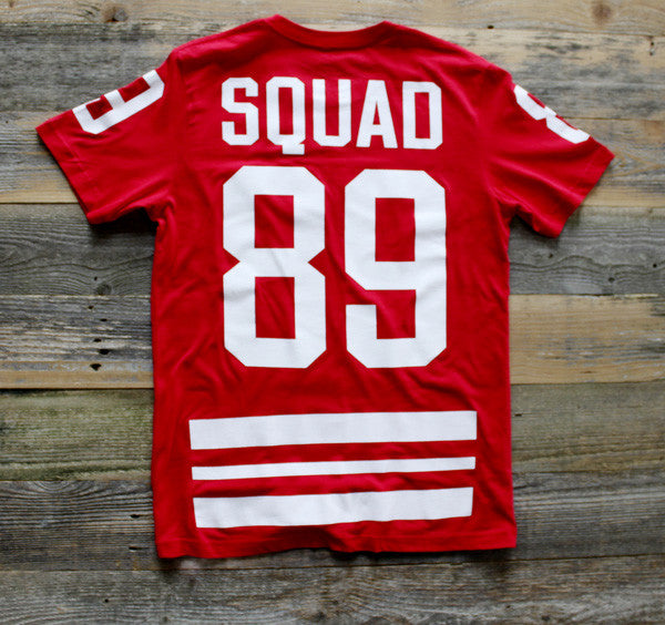 Trenches Hockey Jersey Fire Red - 2