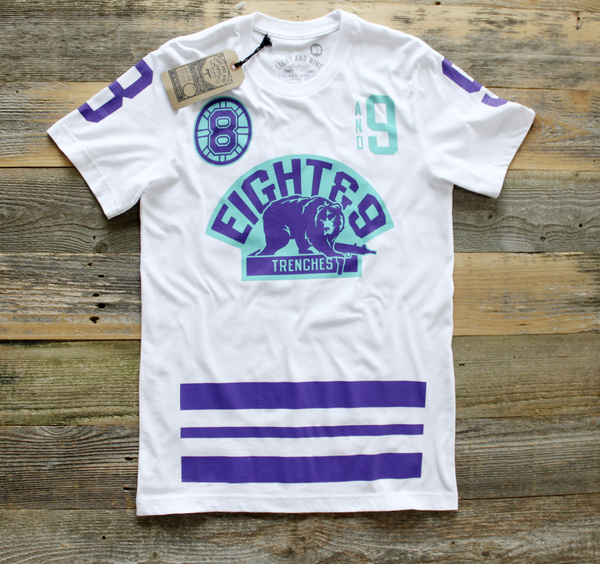 Trenches Hockey Jersey Grape Tee - 1