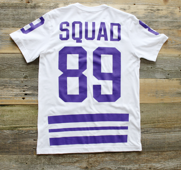 Trenches Hockey Jersey Grape Tee - 2