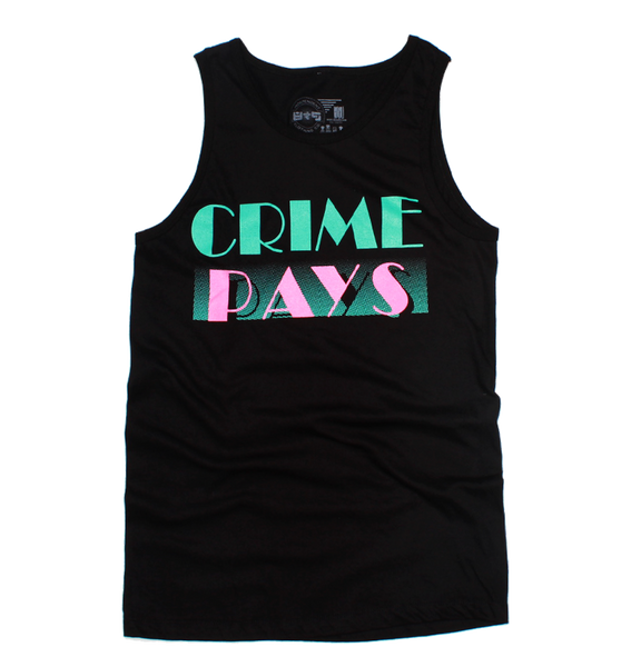 Crime Pays South Beach Elite Tank Top
