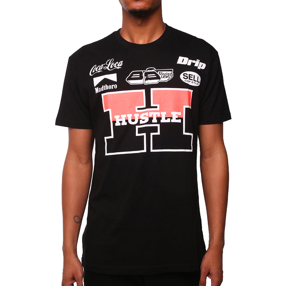 f5f8838b77c5c0 Jordan 6 Infrared Shirt 2019. Left Carousel Arrow Team Hustle T Shirt Black