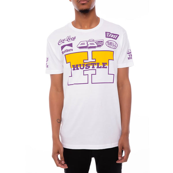 Team Hustle T Shirt Lakers
