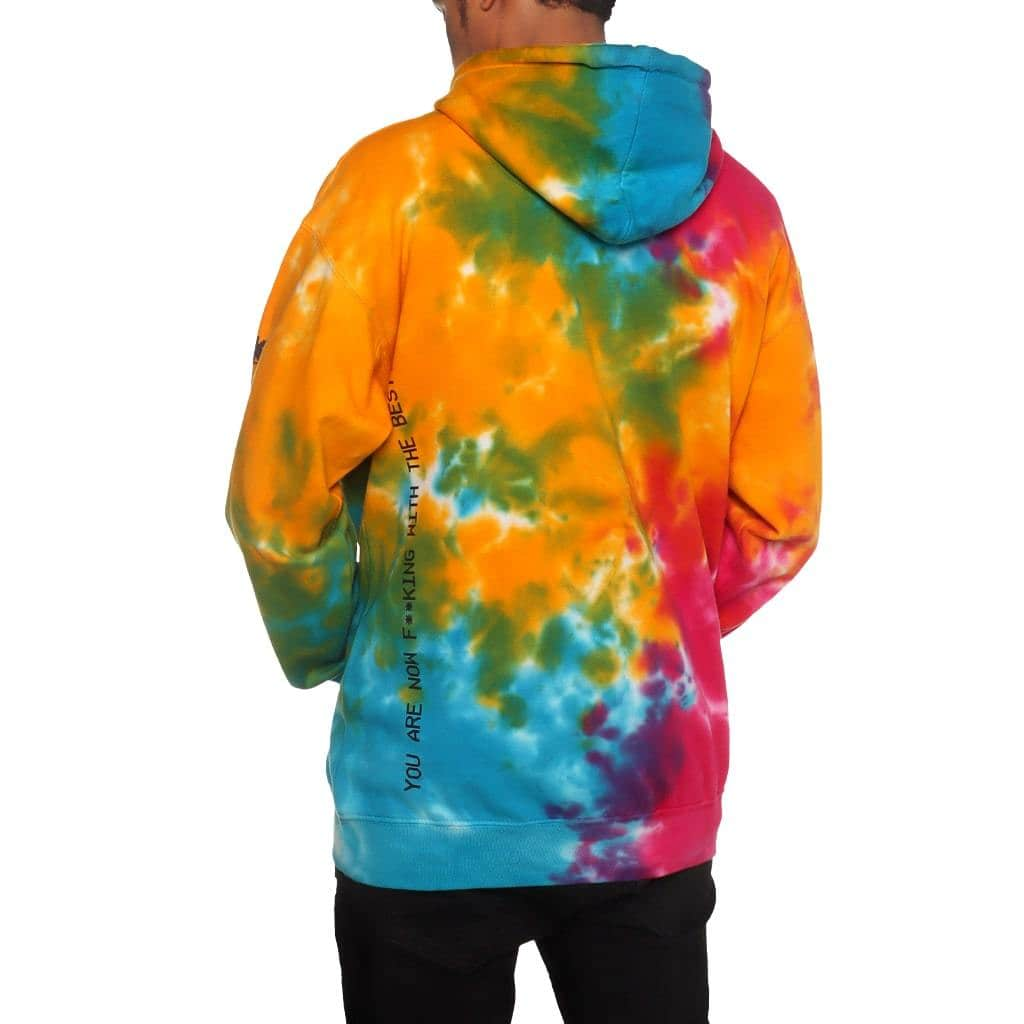 Tech Division Pullover Hoodie Tie Dye
