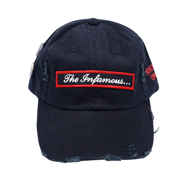 The Infamous Vintage Hip Hop Hat Black