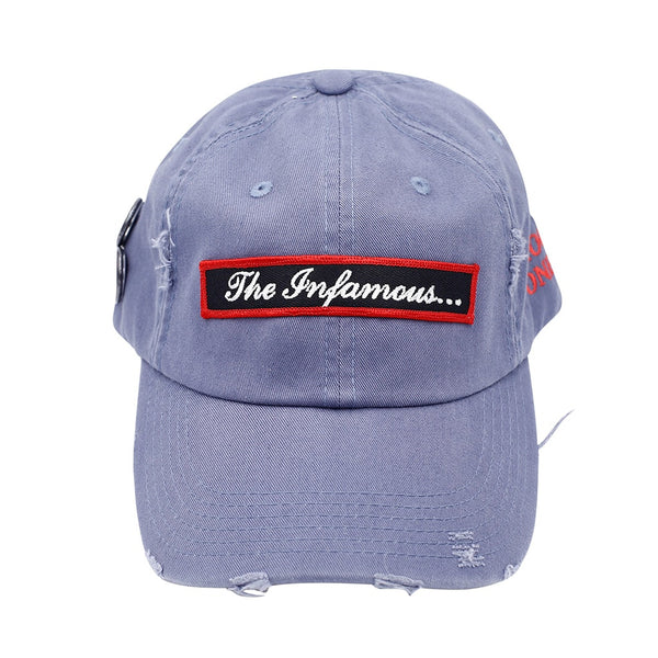 The Infamous Vintage Hip Hop Hat Grey