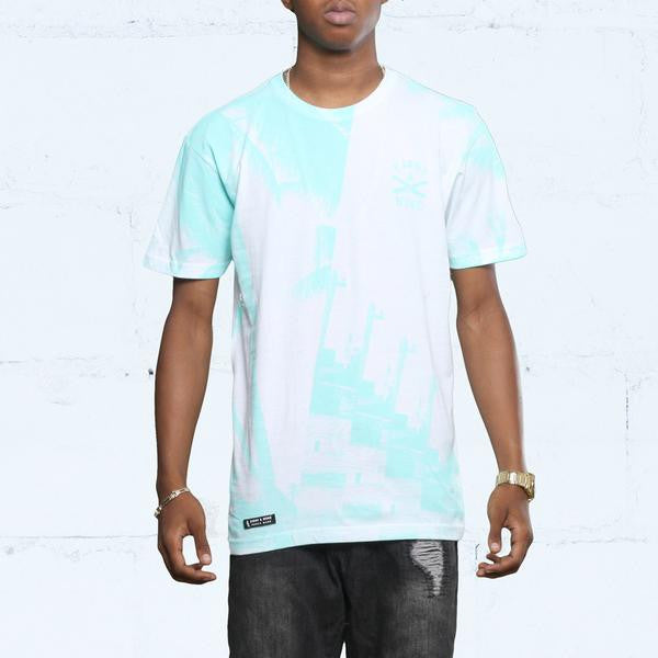 The River t shirt oxidized green (1)