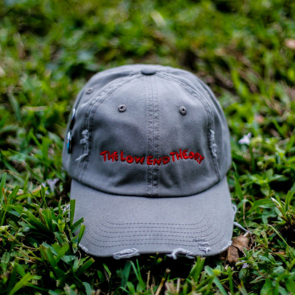 The Theory Distressed Vintage Hip Hop Hat Army